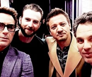 captain america, mark ruffalo, and robert downey jr image