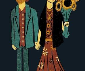 frida kahlo, loving, and vincent van goh image
