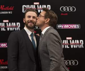 civil war, chris evans, and Marvel image