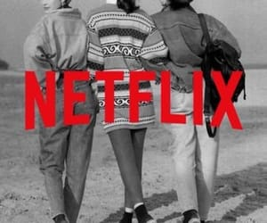black and white, tv show, and netflix image