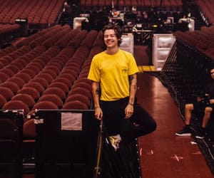 Harry Styles, styles, and yellow image