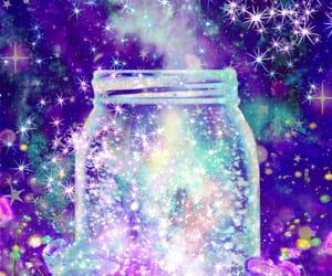 art, glitter, and magic image