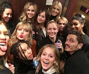 Taylor Swift, dakota johnson, and Karlie Kloss image