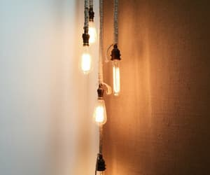 hipster, lights, and wallpaper image