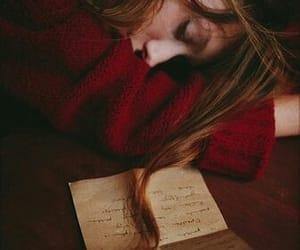 book, girl, and life image