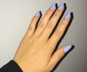 blue, learning, and nails image