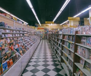 aisle and store image