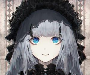 anime girl, close up, and fashion image
