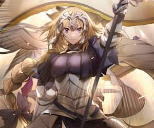 fate, jeanne d'arc, and fgo image