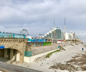 beach, florida, and sunny day image