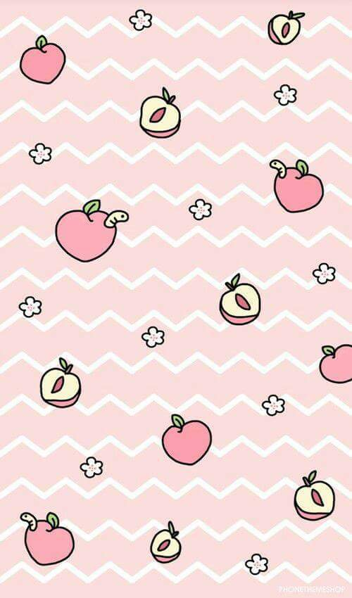 Wallpaper Peach Discovered By Lau Galeana Ardelean