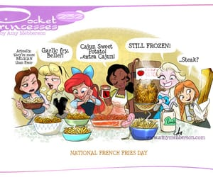 French Fries, pocket princesses, and -funny image