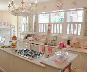 decoration, white, and kitchen image