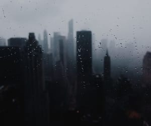 city, grey, and dark image