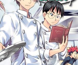 anime, manga, and food wars image