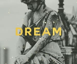 Dream, wallpaper, and statue image