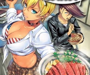 anime, food wars, and don image