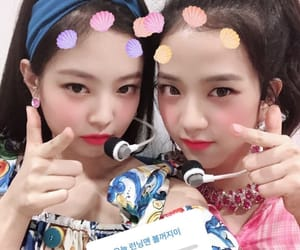 jennie, jisoo, and blackpink image