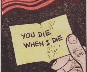 comic, dead, and die image