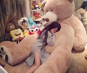 lovely and teddy bear image