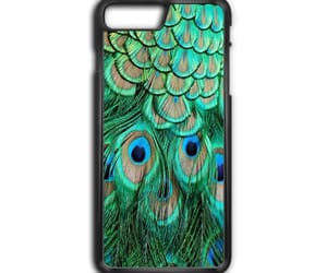 peacock feather, phone cases, and iphone 8 plus image