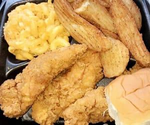 dish, fish, and fries image