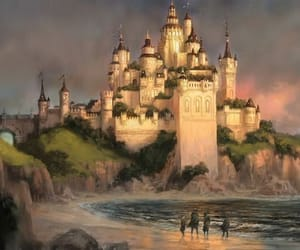 castle, enchanted, and fairytale image