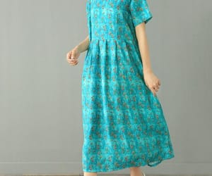 etsy, cotton dress, and prom dress image