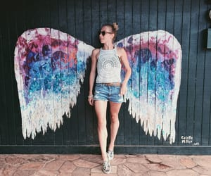 hawaii, frenchgirl, and angelwings ​ image