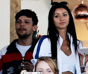 beautiful, couple, and louis tomlinson image