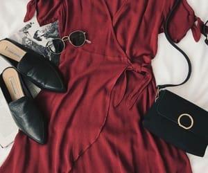 dress, style, and bag image