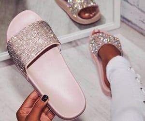 blush, diamond, and polish image