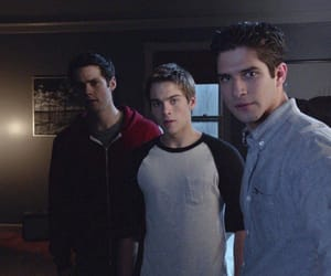 scott, tw, and tyler posey image