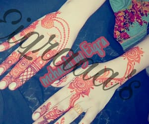 colour, fashion, and henna image
