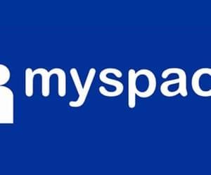 Logo, social media, and myspace image