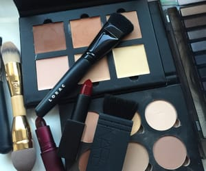 nars, palette, and make up image