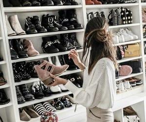 shoes, closet, and fashion image