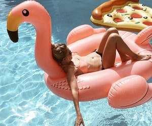 holidays, pool, and summer vibes image