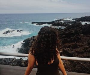beach, Island, and messy hair image