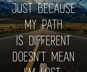 mountain, quote, and road image