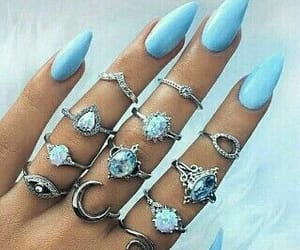 accessories, cool, and nail image