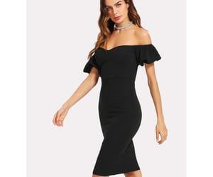 clothing, fashion, and sheath dress image
