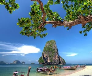 beach, thailand, and nature image