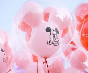 balloons, disney, and blue image