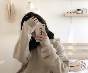 girl, aesthetic, and ulzzang image
