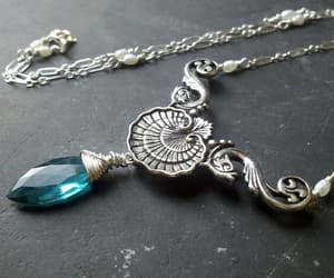 mermaid and necklace image