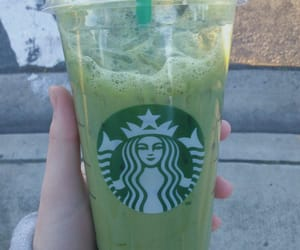 starbucks, green, and drink image