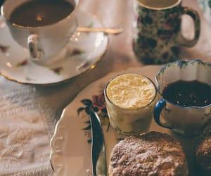 cream, fashion, and teacup image