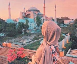 fashion, hijab, and beauty image
