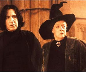 alan rickman, harry potter, and maggie smith image